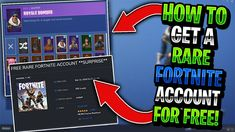 Get Fortnite Rare Skins Accounts For FREE - Working Generator Free v bucks generator Fortnite v bucks no verification Fortnite v-bucks hack nintendo switch Fortnite free v bucks hack without human verification. Epic Games Account, Free Netflix Account, Epic Games Fortnite, Free Xbox One, Create Your Own Story, Online Video Games, App Hack, Fun World, Game Engine