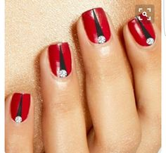 I don't know if I'd do anything with bling but I still like the red and black