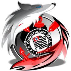 Estampa para camiseta Corinthians 000421