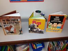 Love this idea to teach author's purpose - one topic (pigs) and find 3 books to illustrate a different author's purpose for the same topic!