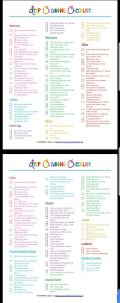 60 Best housework schedule images in 2019 Organizers, Cleaning