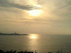 Coruña desde el Faro de Mera.