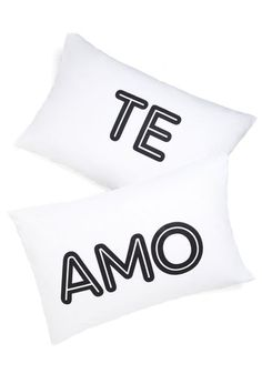 Sentiment to Be Pillowcase Set, #ModCloth