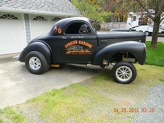 1941 Willys Gasser Coupe Blown 392 Hemi for sale