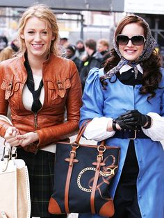 Blair and Serena just know everything.