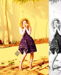 River Song in a fantastic dress!