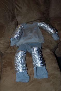Homemade Knight in Shining Armor Costume
