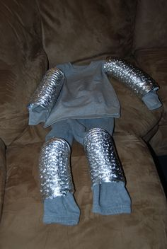 Homemade Knight in Shining Armor Costume