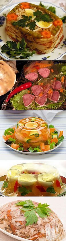 Hladetina s mesom itd. Fish Recipes, Salad Recipes, Chicken Recipes, Good Food, Yummy Food, Christmas Party Food, Food Decoration, Russian Recipes, Appetisers