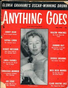 Anything Goes, May 1956 (Gloria Grahame)