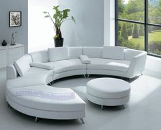Latest Sofa Designs sofa 101: curved vs. straight | round ottoman, ottomans and curved