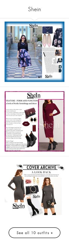 """Shein"" by adelisa56 ❤ liked on Polyvore featuring WithChic, Design Lab, shein, Bounkit, Vianel, Dolce&Gabbana, Rina Limor, Oris, Jennifer Behr and Bobbi Brown Cosmetics"