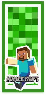 Kit imprimible candy bar Minecraft para eventos. | Candy Bar Gratis Luigi, Mario, Fictional Characters, Mine Craft Birthday, Minecraft Images, Minecraft Birthday Card, Minecraft Invitations, Invitation Cards, Events