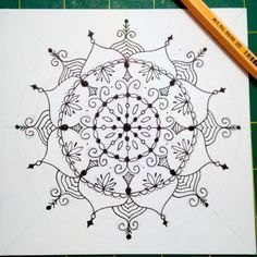 Pin by ellen zinner on painted stones pinterest mandala drawing mandalas step by step bookmarktalkfo Image collections