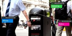 Smart Trash Can Able To Track Smartphones As People Pass