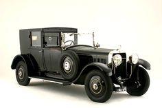 1924 Hispano-Suiza H6B Coup de Ville Coachwork by Carrosserie Kellner of Paris