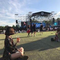 UMF 💃🏻🤘🏻💜  #와썹 #우주 #WASSUP #UMF #umfkorea2017 #kshmr #최고 #짱짱