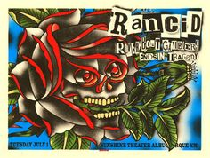 GigPosters.com - Rancid - Riverboat Gamblers - Ends In Tragedy