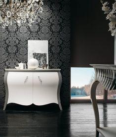 Piesă de mobilier  generoasa care aduce o nota de eleganta. Este realizată din lemn masiv . #comodaalba #comodadormitor #mobiladormitor #mobilalemn #comodatv #comodaliving #comodasufragerie #decoratiunicasa #mobila #decoratiuniinterioare Bathroom Lighting, Mirror, Console, Furniture, Home Decor, Homemade Home Decor, Bathroom Vanity Lighting, Mirrors, Home Furnishings