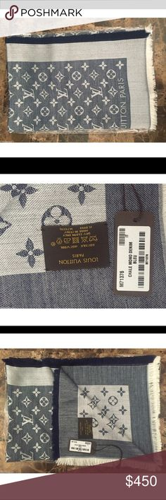 Nwt Louis Vuitton scarf #louisvuitton Brand new with tags have all colors Louis Vuitton Accessories Scarves & Wraps