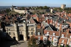 Lincoln Castle - one of the main attractions in Lincolnshire - Travel via the United Kingdom