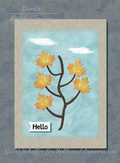 Leaf Stencil, Stencils, Welcome To The Team, Basic Grey, Fall Photos, Hello Autumn, Autumn Theme, Distress Ink, Petunias