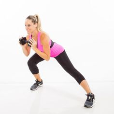 Side Lunge 3 sets of 8 reps