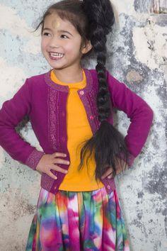 Kidz Art winter 2016   Kixx Online kinderkleding babykleding www.kixx-online.nl Friends Fashion, Kids Fashion, Beautiful Children, Art For Kids, Tie Dye, Sari, Winter, Girls, Clothing
