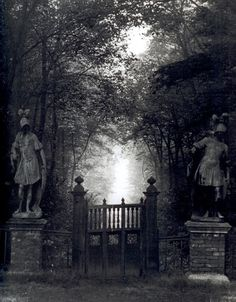 gates with mystery - I want to try to paint this