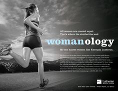 Building healthcare brands :: service line marketing example #Womanology