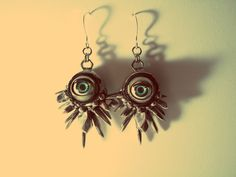 Crystal Creature Earrings - Kt Ferris Creations - $150