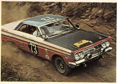 1964 East African Safari. The Ford Lincoln Mercury's racing division, entered a US car for the first time: the Mercury Comet Calientes.