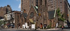 NYC - Limelight Marketplace (old Episcopal church turned into shops) - 656 Avenue of the Americas