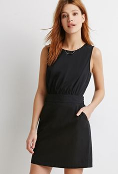 Two-Pocket Sheath Dress | Forever 21 - 2049257679