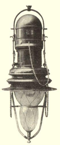 Lampe Bardon en vase clos et charbons minéralisés