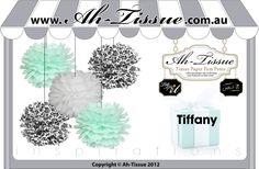 Tiffany Party theme idea..