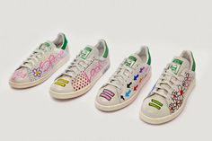 God Save the Queen and all: Pharrell Williams, Adidas Stan Smith y Colette Par… #sneakers #pharrellwilliams #adidasoriginals #stansmith