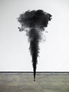 Fabian Bürgy, Smoke 1, 2013 (C-Print)