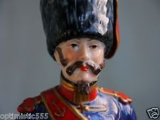 1900 Mimlitrary Napoleon Soldier Drum Major porcelain FIGURINE FIGURE