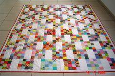 A great scrap quilt.