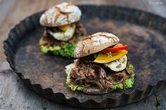 Pulled Beef Burger