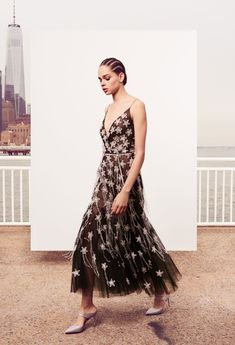 What: Oscar de la Renta Pre-Fall 2018 Who: Issa Rae tends to have fun with her red carpet options, so the ultra-feminine tulle may be appealing to her dressing sensibilities. The frothy piece would also work well for Downsizing's breakout star Hong Chau.