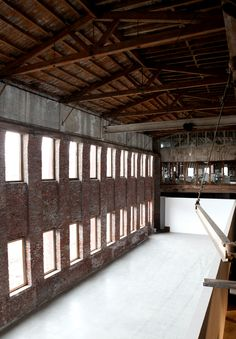 Eyes As Big As Plates Studio | Converted Industrial Spaces #office #architecture