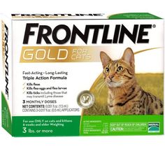 FRONTLINE Gold for Cats Spot on Treatment 6pk