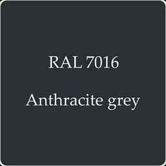 RAL 7016 Cellulose Car Body Paint Anthracite Grey With Free Strainer Ral Colours Grey, Grey Paint Colors, Grey Windows, Harris House, Wall Exterior, Grey Room, Gothic Home Decor, Gothic House, New Home Designs