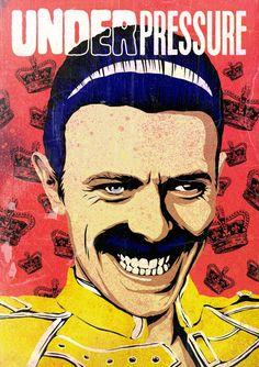 Oilustrador brasileiro Butcher Billy transformaDavid Bowie em vários personagens da cultura pop stylo urbano-11
