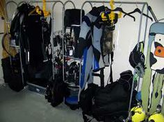 Scuba Garage Storage Ideas
