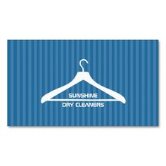 Dry Cleaner / Laundry Business Card