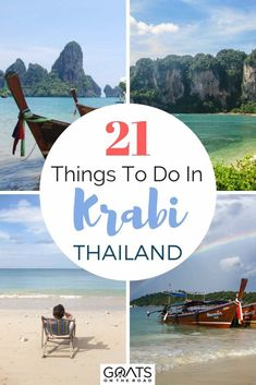 Lounging on picturesque beaches, climbing epic karst mountains, and world-class diving. These are just a few of the things to do in Krabi, Thailand! Thailand Destinations, Thailand Travel Guide, Asia Travel, Travel Destinations, Travel News, Travel Guides, Krabi Thailand, Visit Thailand, Bangkok