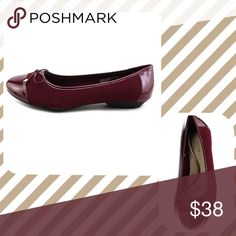 🆕Karen Scott Rylee Ballet Bow Flats in Wine Color ✨BRAND NEW ✨Original Box 🔹Karen Scott flats 🔹Wine🔹(Black color is also available in my closet) 🔹round toe 🔹bow at the toe 🔹perfect for work all day🔹extra padding for comfort at the insole Karen Scott Shoes Flats & Loafers